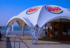 Арочные шатры для кафе img8672