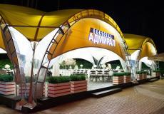 Арочные шатры для кафе img6431