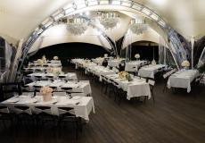 Арочные шатры для кафе img8673