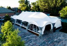 Арочные шатры для кафе img6188