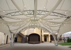 Арочные шатры для кафе img6434