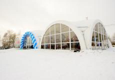 Арочные шатры для кафе img6186