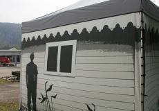 Мобильный шатер Hard Prof 3х3 м img675