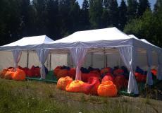 Мобильный шатер Prof 3х6 м img531