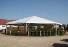 Шестигранный шатер Римини Диаметр 12м img3281