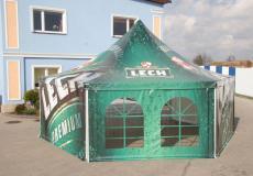 Шестигранный шатер стандарт Диаметр 10м img3753
