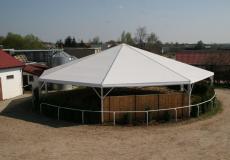 Шестигранный шатер стандарт Диаметр 10м img3756