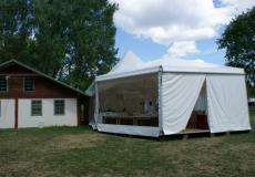 Шестигранный шатер стандарт Диаметр 10м img3757