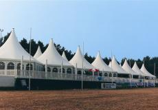 Шестигранный шатер стандарт Диаметр 10м img3744