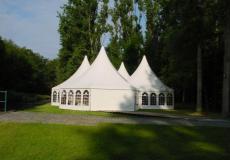 Шестигранный шатер стандарт Диаметр 10м img3745