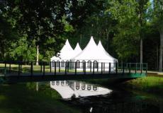 Шестигранный шатер стандарт Диаметр 10м img3746