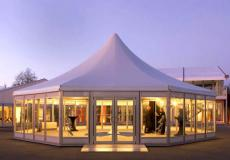 Шестигранный шатер стандарт Диаметр 12м img3724