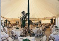 Шестигранный шатер стандарт Диаметр 12м img3726