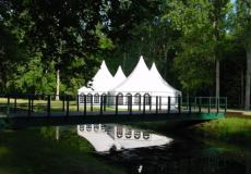 Шестигранный шатер стандарт Диаметр 12м img3729