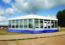 Шестигранный шатер стандарт Диаметр 15м img3718