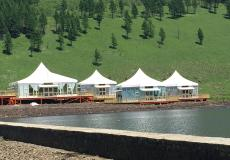 Шестигранный шатер стандарт Диаметр 15м img3720