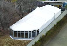 Шестигранный шатер стандарт Диаметр 15м img3717