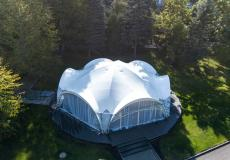 Арочные шатры для кафе img6187