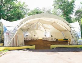 Арочные шатры для кафе img6179