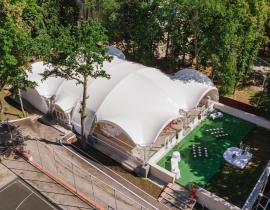 Арочные шатры для кафе img6180