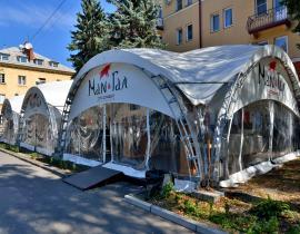 Арочные шатры для кафе img6182