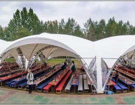 Арочные шатры для кафе img6183