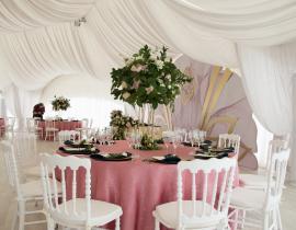 Арочные шатры для кафе img6290