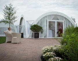 Арочные шатры для кафе img6285