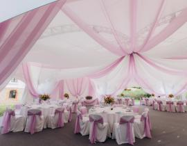 Арочные шатры для кафе img8683