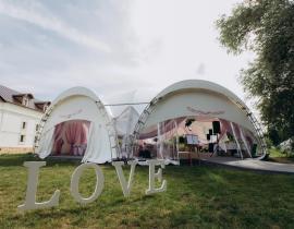 Арочные шатры для кафе img8684