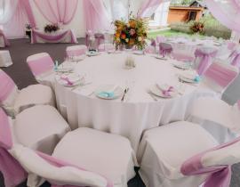 Арочные шатры для кафе img8681