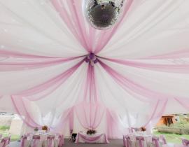 Арочные шатры для кафе img8682