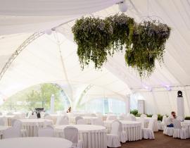 Арочные шатры для кафе img8676